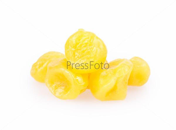 Фотография на тему Сухофрукты. Лимон, ананас