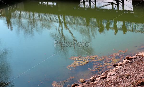 Фотография на тему Силуэты на воде