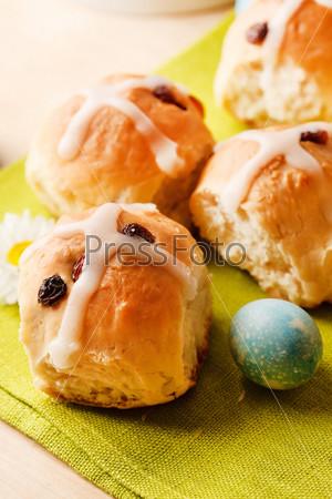 Фотография на тему Горячие булочки с крестом