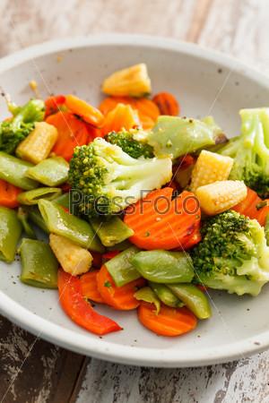 Фотография на тему Жареные овощи