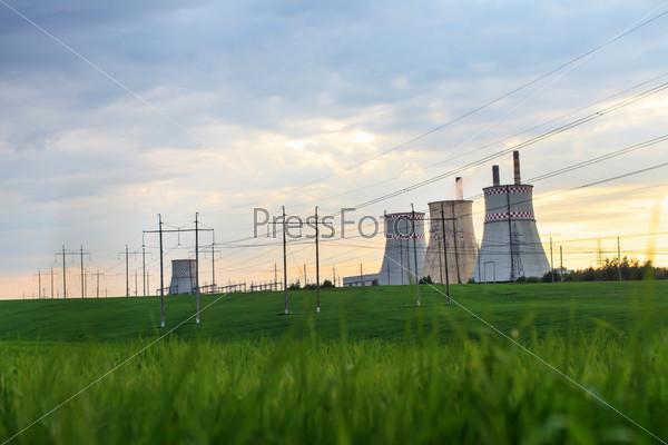 Фотография на тему Электростанция