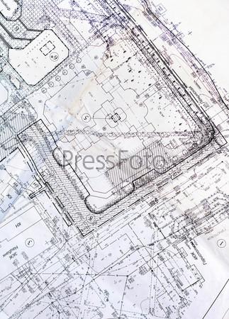 Старый план города