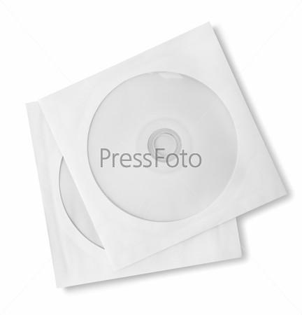 Диски в бумажных футлярах