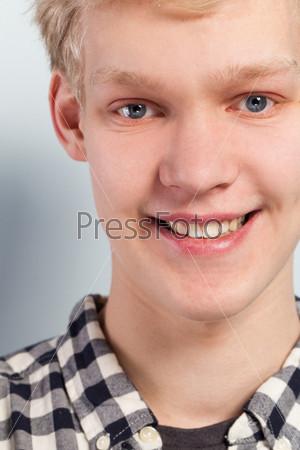 Портрет красивого парня