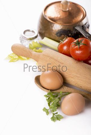Фотография на тему Натюрморт с овощами