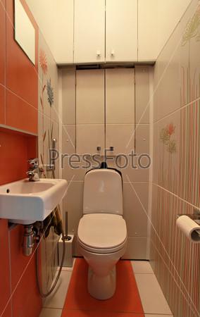 Интерьер туалета в современном дизайне