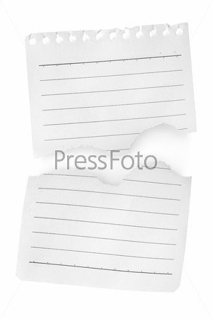 Два листа бумаги
