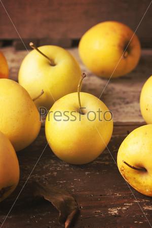 Фотография на тему Зеленые яблоки
