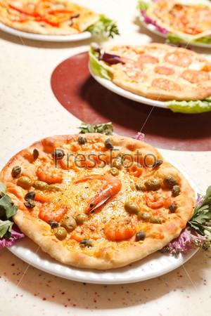 Фотография на тему Итальянская пицца