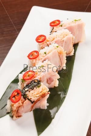 Фотография на тему Вкусные суши