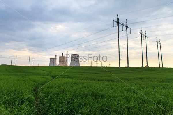 Электростанция