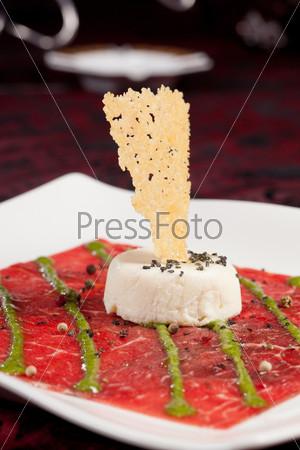 Фотография на тему Карпаччо из говядины