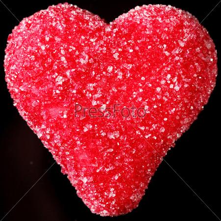 Сердце из марципана