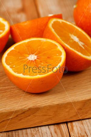 Фотография на тему Свежие апельсины
