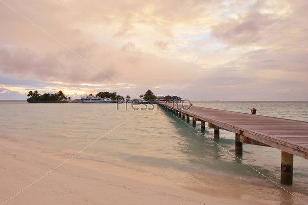 Фотография на тему Тропический пляж