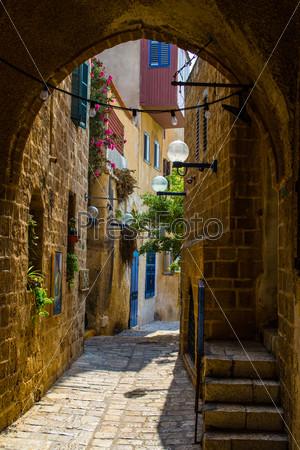 Фотография на тему Старая улица, Яффо, Тель Авив