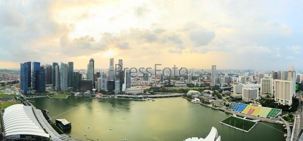 Красивый Сингапур