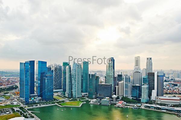 Фотография на тему Сингапур на закате