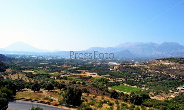 Фотография на тему Вид на остров Крит, Греция