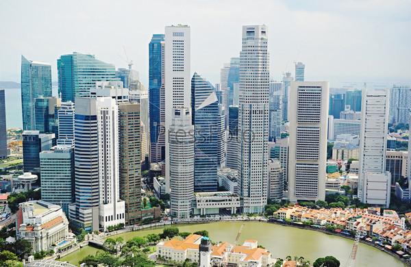 Фотография на тему Центр города Сингапур