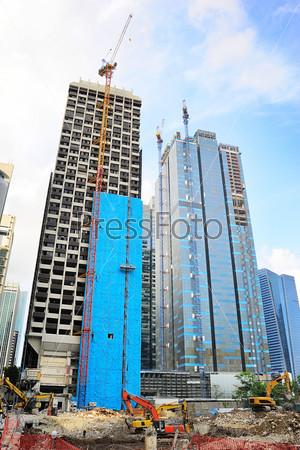 Фотография на тему Строительство в Сингапуре