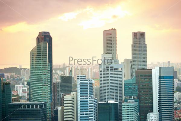 Яркий Сингапур