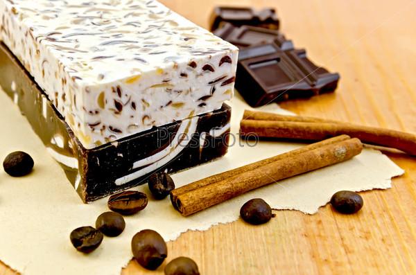 Самодельное мыло с шоколадом и корицей