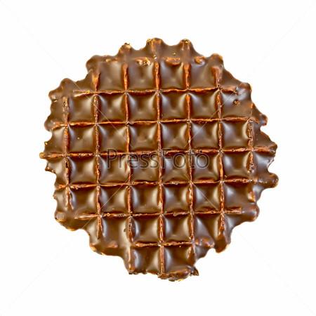 Вафля в шоколаде