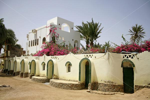 Фотография на тему Красивый отель в Дахабе, Синай, Египет
