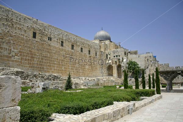 Западная и южная стена плача, Иерусалим, Израиль