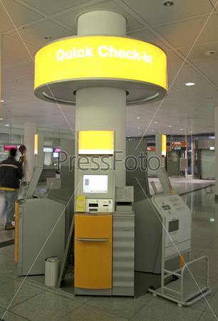 Автоматическая регистрация в аэропорту