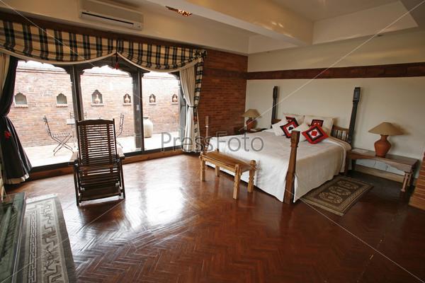 Роскошная спальня в 5-звездочном отеле