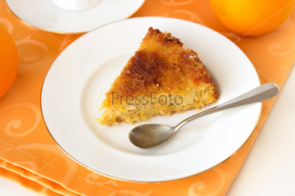 Фотография на тему Апельсиновый пирог