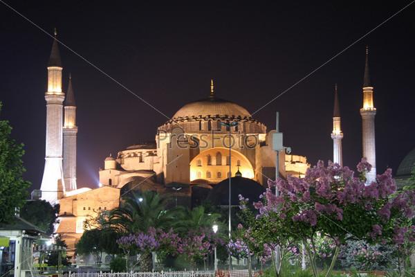 Фотография на тему Собор Святой Софии, Султанахмет, Стамбул, Турция