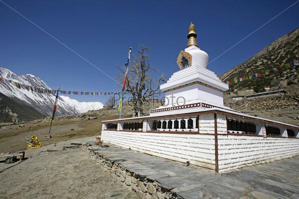 Буддийский монастырь, Аннапурна, Непал