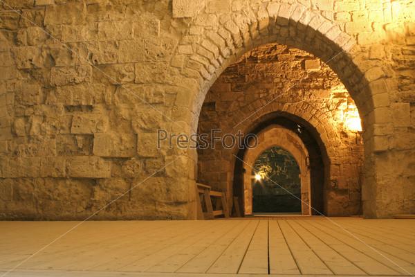 Туннель рыцаря Тамплера, Иерусалим, Израиль