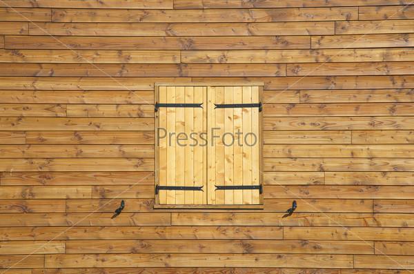 Фотография на тему Деревянная стена