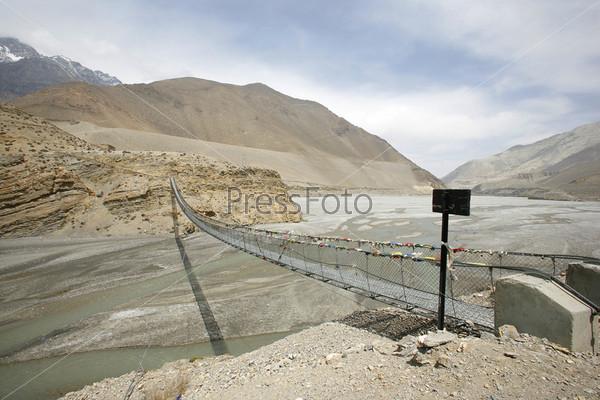 Стальной мост, Мустанг, Аннапурна, Непал