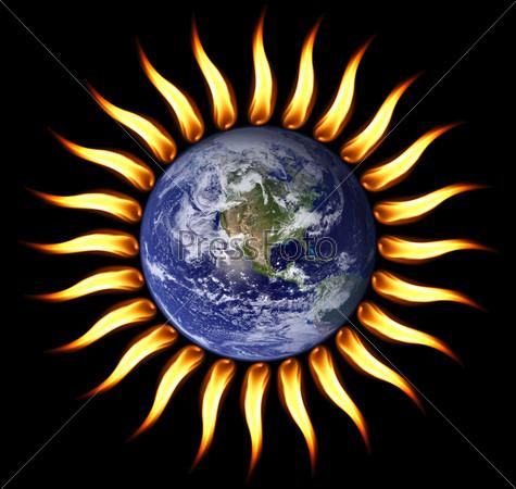 Мир в огне