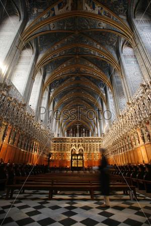 Фотография на тему Интерьер собора Альби