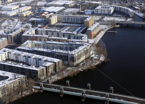 Вид с воздуха на Берлин