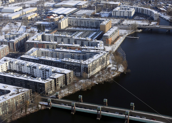 Фотография на тему Вид с воздуха на Берлин