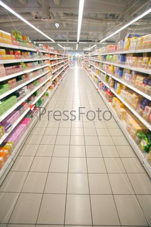 Перспектива супермаркета