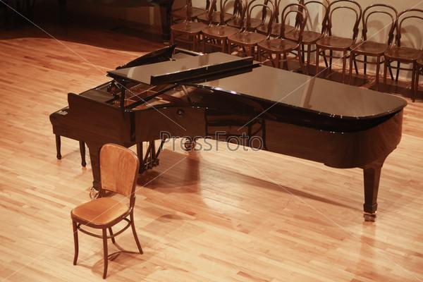 Фотография на тему Открытый рояль