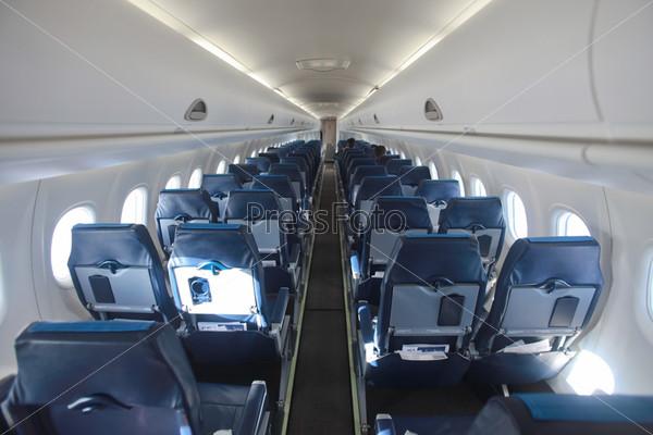 Фотография на тему Интерьер самолета