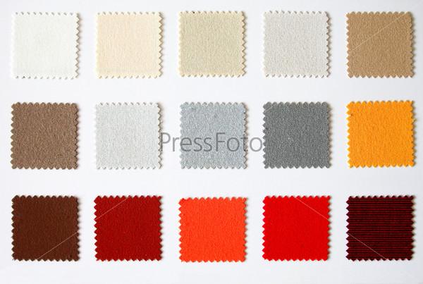 Фотография на тему Текстильная цветовая палитра