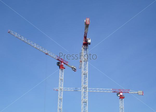 Современные строительные краны