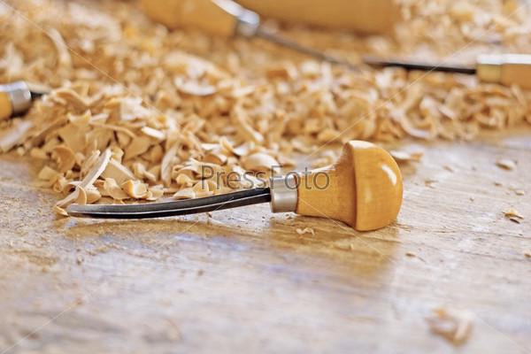 Деревянный рабочий инструмент