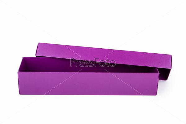 Фотография на тему Фиолетовая коробка