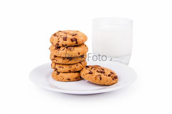 Печенье и молоко